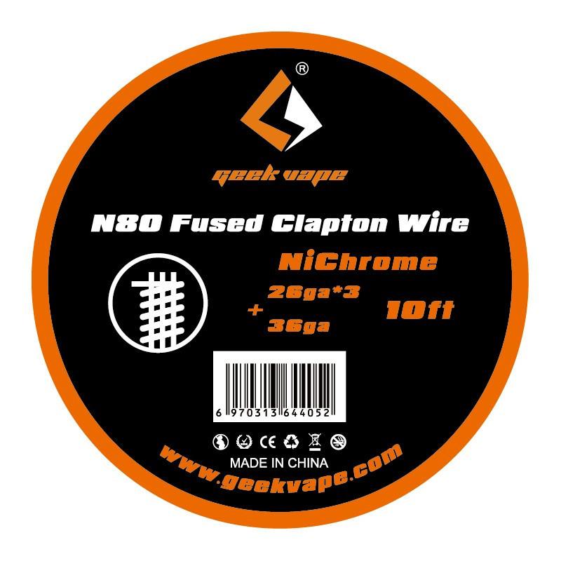 Spule N80 Fused Clapton Wire - Geek Vape | 3m