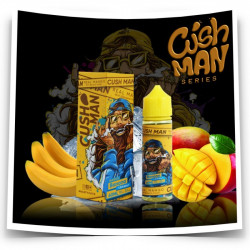 "Mango Banana (arômes boostés) - Cushman Series ""Low Mint"" - Nasty Juice 