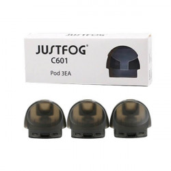 Cartouches podmod C601 - Justfog | Pack x3