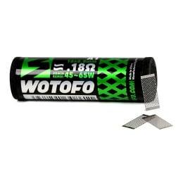Résistances Mesh Style 0,18oHm - Wotofo | Pack x10